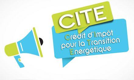 CITE: Crédit d'Impôt pour la Transition Energétique